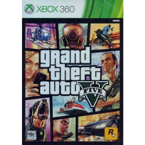 Brand New & Factory Sealed Xbox 360 Grand Theft Auto V GTA 5 (Grand Theft Auto For Xbox compare prices)