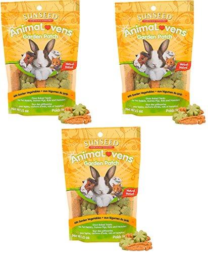 Vitakraft Animal Lovens Garden Patch Small Animal Treats (3 Pack) by Vitakraft
