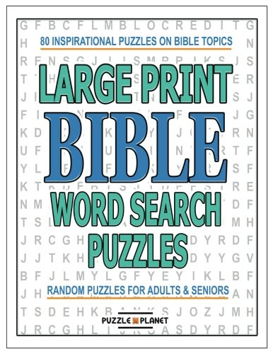 Download Large Print Bible Word Search Puzzles: Bible Word Search Puzzle Books (Large Print Word Search) (Volume 6) ePub fb2 book