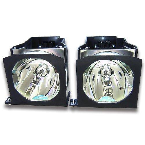 元電球と汎用ハウジングfor Panasonic pt-dw7000e (デュアル)交換etlad7700lw、et-lad7700lwプロジェクターランプ   B00OIXZ4XI