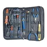 Generic ool Kit VOM Meter AC/DC oldering Desoldering Pump. g Pump.VOM M NEW 12pc w/ Sold Electronic Tool Kit c Electr w/ Soldering Iron. 2pc Elec