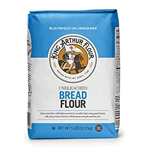 Amazon.com: King Arthur Flour Unbleached Bread Flour, 5