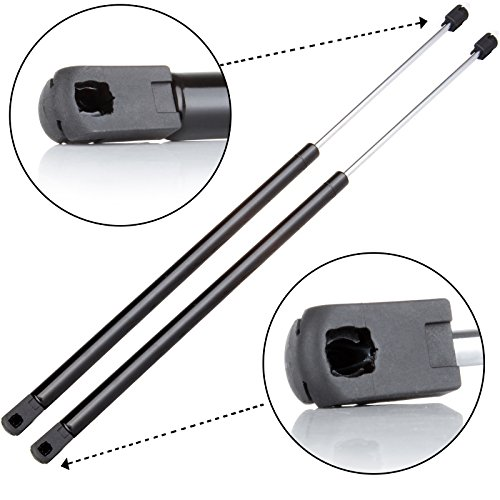 Lift Supports,ECCPP Rear Window Glass Lift Support struts for 2004-07 Buick Rainier,2002-09 Chevrolet Trailblazer,2002-09 GMC Envoy,2004-09 Isuzu Ascender,2005-09 Saab 9-7X Set of 2 (Chevrolet Pistons)