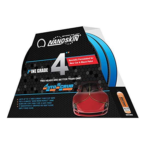 AUTOSCRUB Fine Grade Foam Pad, (Pack of 2) [AS-011]