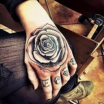 Generic Waterproof Temporary Tattoo Sticker Flower Rose