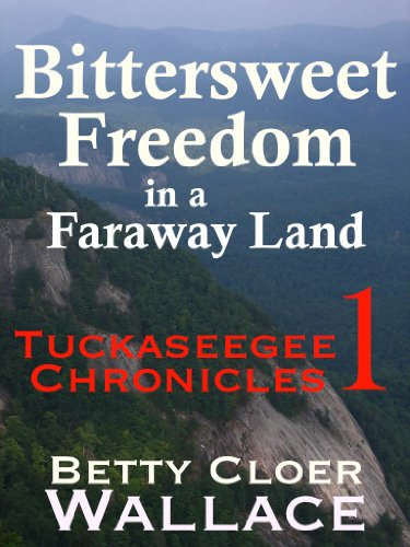 BITTERSWEET FREEDOM IN A FARAWAY LAND:  Tuckaseegee Chronicles 1 (The Tuckaseegee Chronicles) by [Wallace, Betty Cloer]