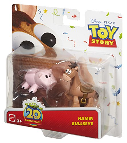 Disney/Pixar Toy Story 20th Anniversary Hamm and Bullseye Figure Buddy 2-Pack
