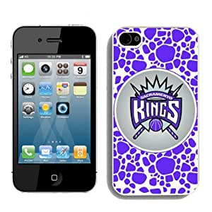 NBA Sacramento Kings For Apple Iphone 5/5S Case Cover popular For NBA Fans By For Apple Iphone 5/5S Case Cover