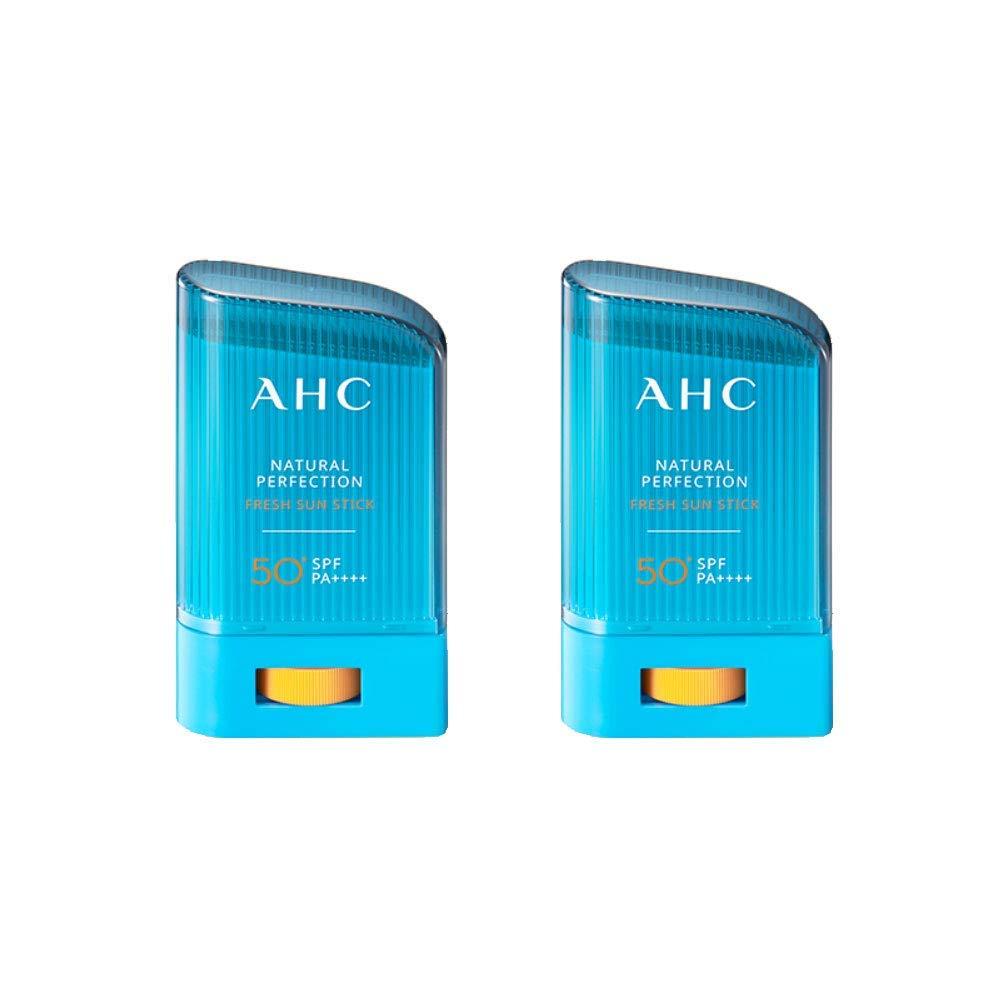 AHC Natural Perfection Fresh Sun Stick SPF 50+/PA++++ 22g Duo Set
