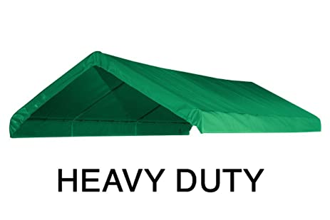 10X20 Heavy Duty Green Canopy Top Cover with Valance  sc 1 st  Amazon.com & Amazon.com : 10X20 Heavy Duty Green Canopy Top Cover with Valance ...
