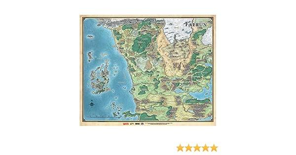 Dungeons & Dragons Mapa de Faerûn (EEWCDD06A): Amazon.es: Juguetes ...