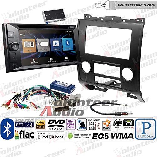 - Sony XAV-W651BTN Double Din Radio Install Kit With Navigation, USB/AUX, CD/DVD Player Fits 2008-2012 Ford Escape, Mazda Tribute, Mercury Mariner (Black)