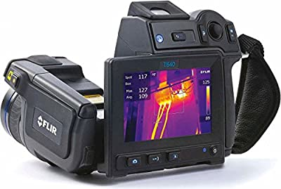 Flir 55903-2922 Model T600bx-45 Infrared Thermal Imaging Camera with 4.3-inch LCD Touchscreen and 45 Degrees Field of view