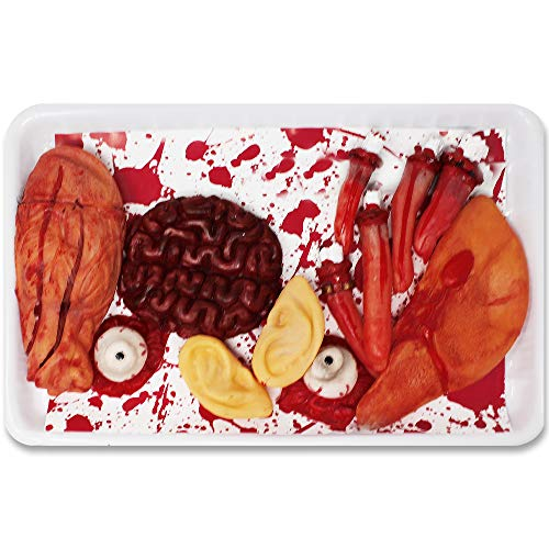(THE TWIDDLERS 12 Fake Body Parts - Great for Halloween Party Props & Decoration, Includes Eyes, Ears, Fingers, Nose - Ideal Decor &)