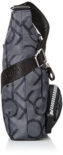Organizational Dot Athleisure Klein Kelin Crossbody Calvin Calvin Black White Nylon qXw1dxd