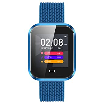 Bluetooth Smart Watch - Star_wuvi Smart Touch Screen Sports Watch,IP67 Waterproof Smartwatch with Fitness