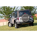 Rugged Ridge TL-12802.01 Black 30-32 Tire Cover by Rugged Ridge