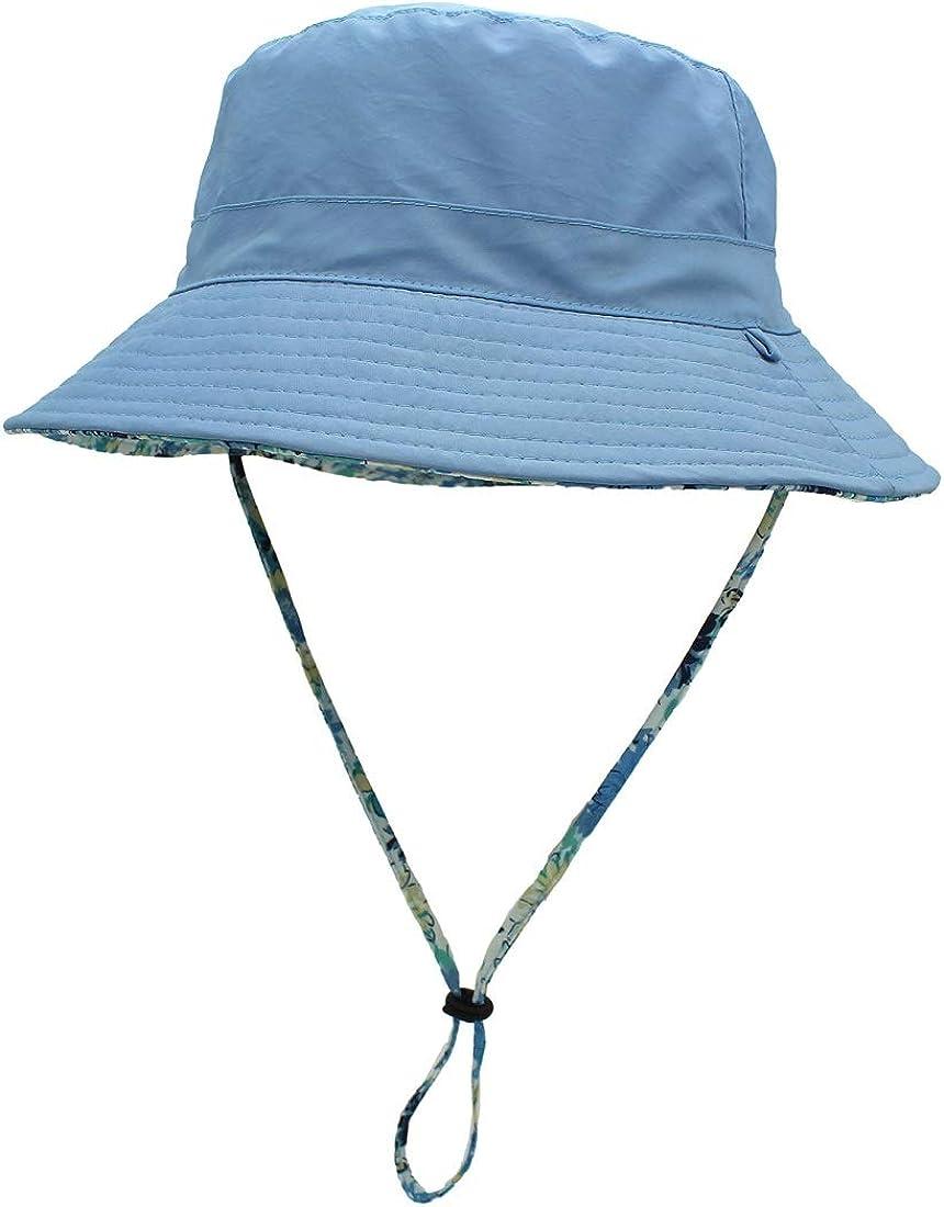 PPAN Japan Unisex Cotton Packable White Travel Bucket Hat Fishing Cap