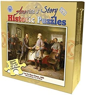 product image for Channel Craft America's Story Let Us Have Peace, 1865 Jigsaw Puzzle 550 Pieces