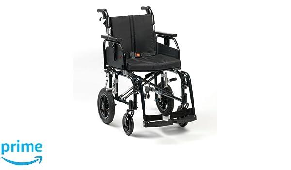 Drive Medical SD2TS18BLK Enigma Super Deluxe - Silla de ruedas (asiento de 45,72 cm): Amazon.es: Salud y cuidado personal
