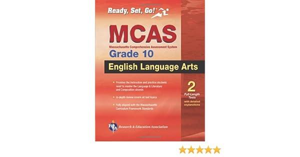 Amazon.com: MCAS English Language Arts, Grade 10 (Massachusetts ...
