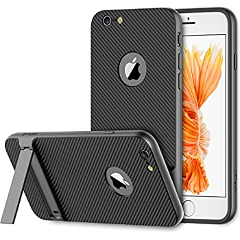 iPhone 6s Case, JETech Slim-Fit iPhone 6 Case with Self Stand for Apple iPhone 6 6s 4.7 (Grey) - 3383