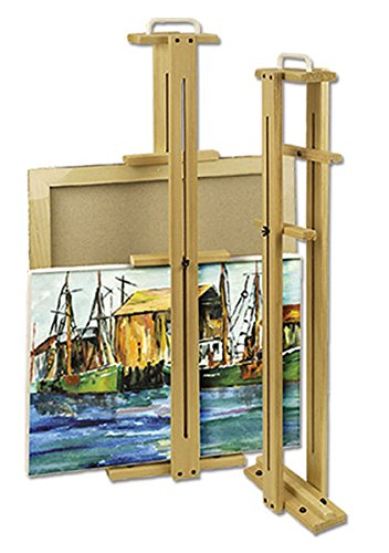 Creative Mark Wet Canvas Protector and Carrier - Wood Canvas Carrier with Handle to Protect Wet Canvases Without Smearing or -
