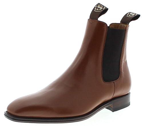 b1bf3597033 Sendra Boots Hombre Chelsea Boots 5595 Traje Guantes Marrón  Amazon.es   Zapatos y complementos