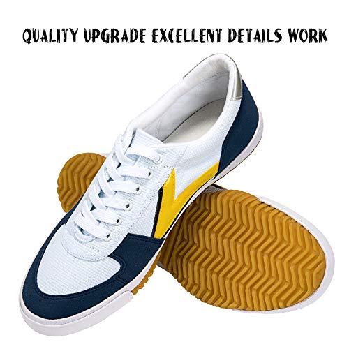 DOUBLESTAR MR Classical Lightweight Kung Fu Shoes,White,US 10 Men/ US 10.5Women