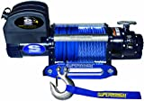 blue 9500 lights for a car - Superwinch 1695201 Talon 9.5SR, 12 VDC winch, 9,500 lb/4,309 kg capacity with hawse fairlead & synthetic rope
