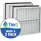 Trane FLR06070 American Standard BAYFTFR21M 21x27x5 Merv 8 Replacement Air Filter (2 Pack)