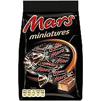 Mars Miniatures Barette Ricoperte con Cioccolato al Latte con Caramello - Pacco da  14 pezzi x 130 g