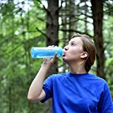 Glass Water Bottle 32 oz, 1 Liter with Silicone Sleeve, Best Large Reusable Drinking Bottles on Amazon, Dishwasher & Essential Oil Safe, BPA Free, For Sports, Travel, Yoga or Gym, Eco-Friendly, 1L XL