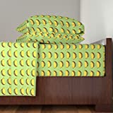 Roostery Snacks 3pc Sheet Set Taco by Tropicmel Twin Sheet Set made with