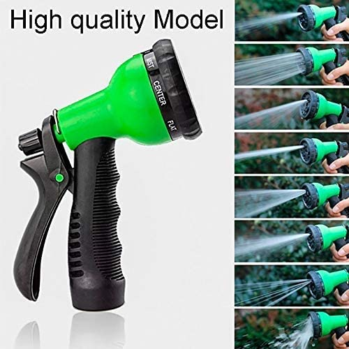 ZHTY Garden hose,25Ft-200Ft Garden Hose Expandable Flexible Water Hose Hose Plastic Hoses Pipe With Spray Gun To Watering 100FT-High-quality Green