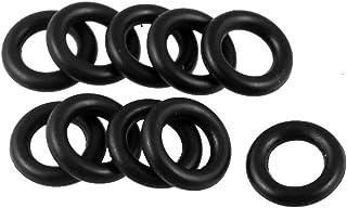 10pz Gomma nitrilica O-ring NBR rondella 9mm x 2mm