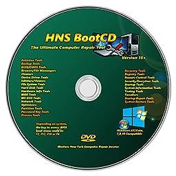 HNS Universal Windows Password Reset CD DVD Disc for Windows 7, Vista, Home 8.1 Win8 Pro XP Windows 10 32 bit 64 bit All Password Recovery