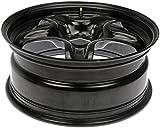 "Dorman 939-101 Black Steel Road Wheel 17x7""/5x110mm with 40mm Offset"