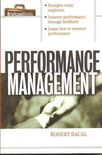 Performance Management (Briefcase Books)