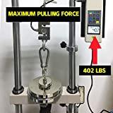 Super Strong Neodymium Fishing Magnets, 500 lbs(227 KG) Pulling Force Rare Earth Magnet with Countersunk Hole Eyebolt Diameter 2.36 inch(60 mm) for Retrieving in River and Magnetic Fishing