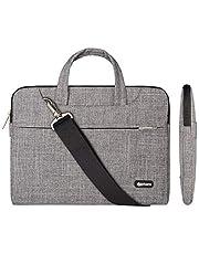 Qishare 13.3-14 Pulgadas Multifuncional portátil Hombro Bolsa maletín portátil de Ordenador portátil Caso Portador