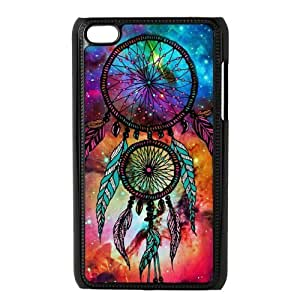 Galaxy Nebula DreamCatcher Protective Hard PC Back Fits Cover Case for iPod Touch 4, 4G (4th Generation)