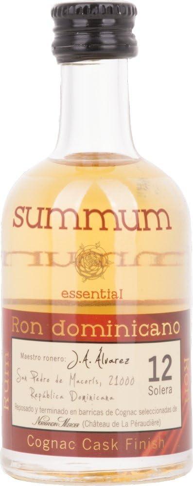 Summum 12 Solera Ron Dominicano Cognac Cask Finish Rum - 3 ...