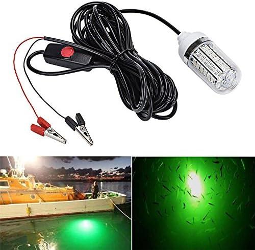 Moligh doll 12V-24V Luz De Pesca Verde 108 Piezas LED Luz De Pesca Submarina Se?uelos L/ámpara Buscador De Pez