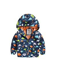Zhengpin Child Baby Boy Hooded Coat Autumn Jackets Winter Jacket Kids Windbreaker NEW