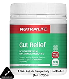 Soothing Gut Relief for Heartburn, Indigestion & Leaky Gut - Try it for Acid Reflux, GERD, Colitis, IBS, Crohn\'s or Irritable Bowel - Supports Digestive & Colon Health - All in one for Gut Repair