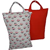 """2 Odor & Water-Resistant Wet Storage Bags - 12.5""""Wide X 18""""High 
