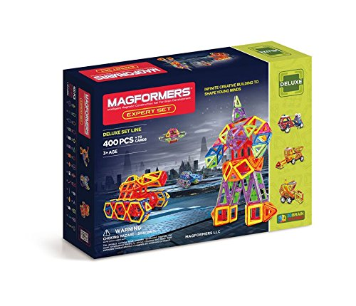 Magformers Deluxe Expert Set 400 pieces