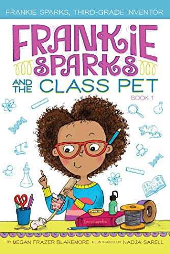 Book Cover: Frankie Sparks and the Class Pet