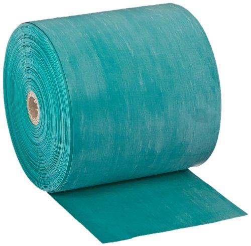 - Cando 10-5623 Green Latex-Free Exercise Band, Medium Resistance, 50 yd Length